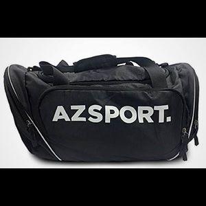 AZSPORT Gym Bag, Black New